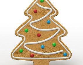 3D Gingerbread Cookie Tree