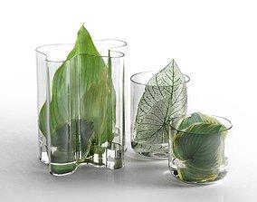 Leaf Hurricane Centerpiece 3D