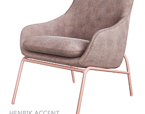 Henrik Accent Armchair 3D asset