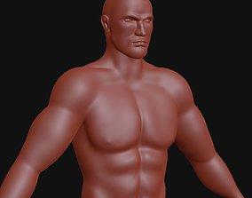 Man base mesh 3D model