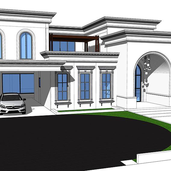 Classical villa design proposal 2