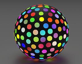 3D model Abstract Disco Ball
