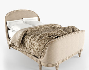 Belle Upholstered Bed 3D