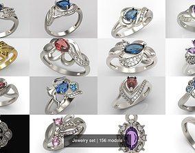 Jewelry set 156 models 3D