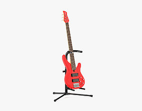 Yamaha Basses Guitar TRBX305 with Stands 3D
