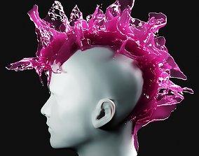 Punk Splash 4 3D model