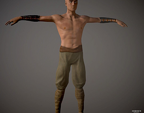 Battle Monk 3D asset