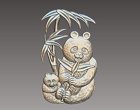 3D printable model pandas
