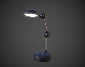 Desk Lamp 3D asset game-ready