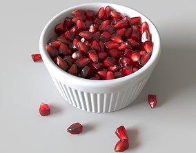 3D model Pomegranate Seeds