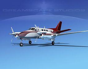 3D Beechcraft King Air C90 V12