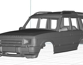 3D printable model Land Rover Discovery Body Car