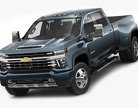 Silverado 2020 3500HD pick-up truck 3D model