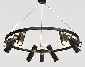 3D Lampatron Spoor 9 lamps