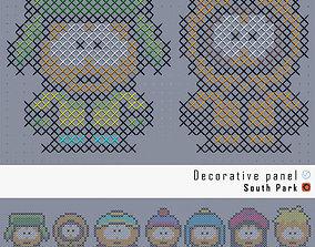 3D South Park