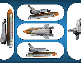 3D Space Shuttle Models
