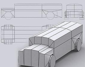 VR / AR ready 3DRT - Road Rush Busses
