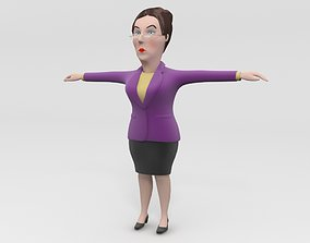 Director teacher principal headmaster manager 3D model 1