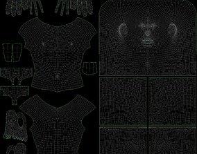 3D asset Stylized Male Basemesh
