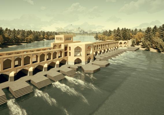 Khaju-bridge