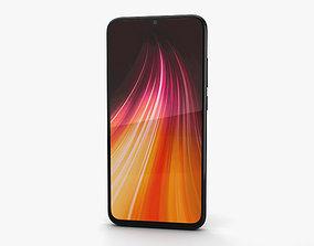 Xiaomi Redmi Note 8 Space Black 3D