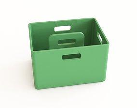 3D Plastic crate 33