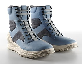 Garment Dyed Military Boots 3D