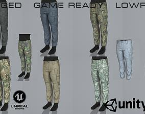 ABR Pro pants 3D model