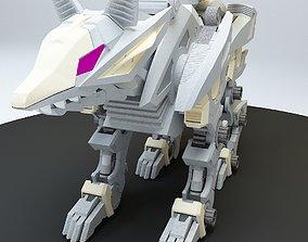 3D Robot guard dog 4