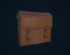 Leather Bag 3D asset