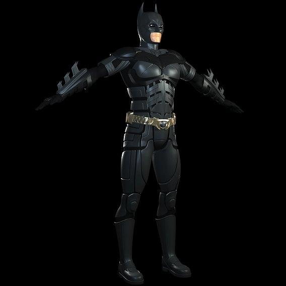 Batman (The Dark Knight Version) Upcoming 3D Model WIP