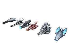 3D Spaceship - Fort 03