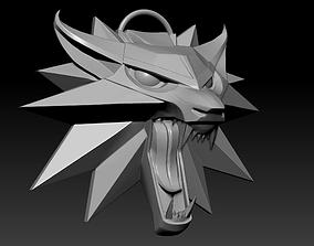 Witcher Medallion 3D printable model
