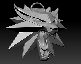 Witcher Medallion 3D printable model