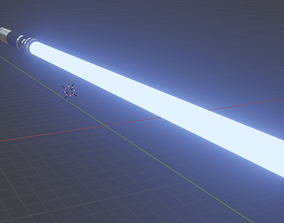 space model 3D model Lightsaber