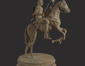 3D model Cavalry Statue