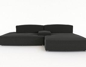 3D Grey Sofa