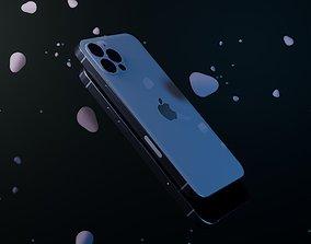 3D iPhone 12 pro max phone