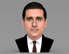 Michael Scott The Office bust ready for full color 3D