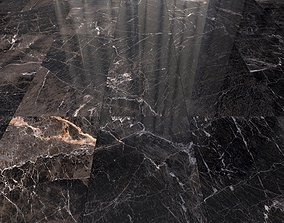 Marble Floor Java Black Set 3 3D model