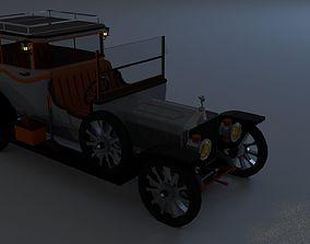 3D asset RollsRoyce Silver Ghost