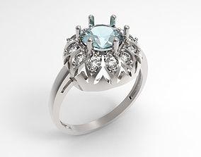 3D print model Ring Lily STL