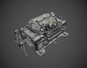 3D model game-ready Carter carburetor