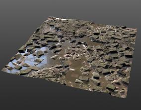 Rubble Pbr Textures 3D model