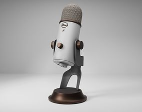 3D model Blue Yeti Microphone