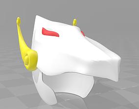 Saint seiya pegasus helmet 3D print model