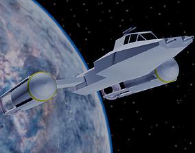 Star Wars - Y-Wing Rebel Bomber 3D model