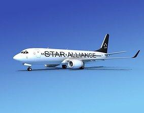 Boeing 737-800 Star Alliance 3D