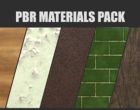 PBR Materials Pack 3D