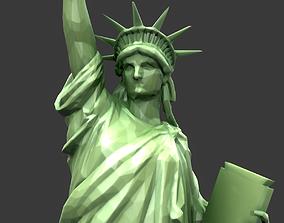3D model Statue Of The Liberty
